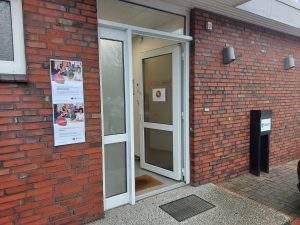 KOR Schein Aushang Eingangsbereich